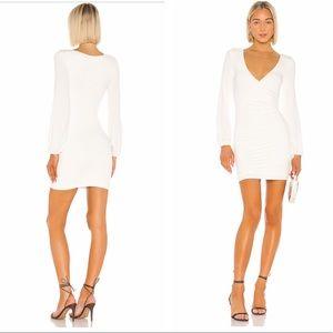 NWOT Lovers + friends joslyn mini dress white